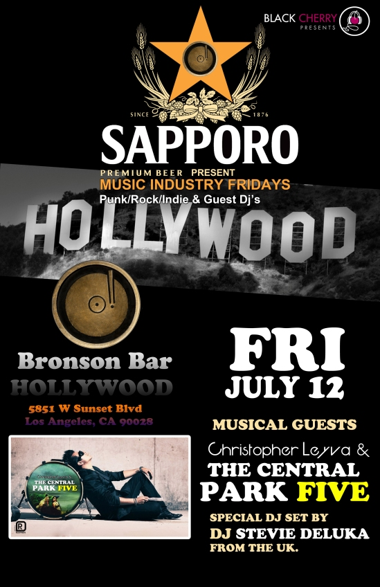 Leyva Back in Hollywood with The Central park 5 - This Friday July12th