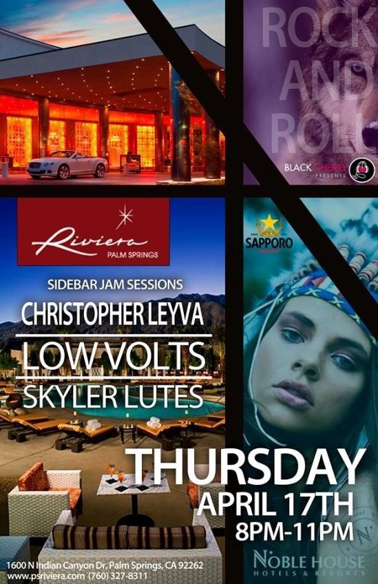 Live at The Riviera tomorrow night