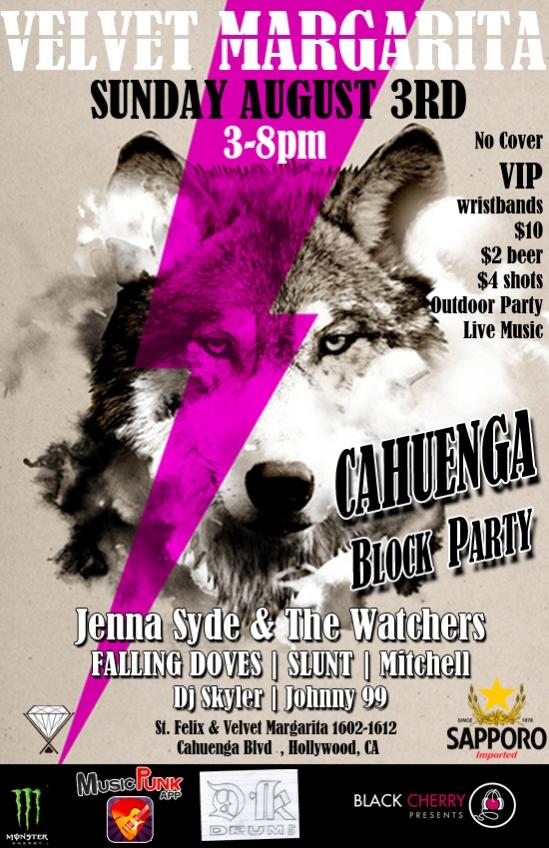 cahuenga block Party