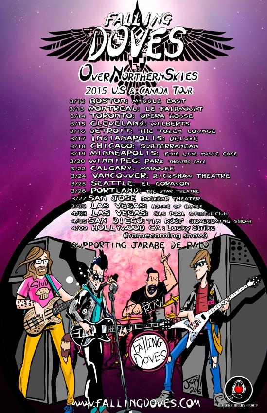 Falling Doves Tour